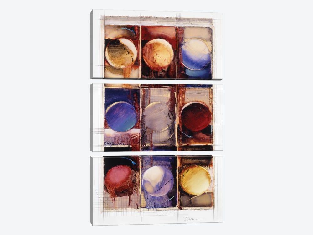 Abstract IX by Bruce Dean 3-piece Canvas Art Print