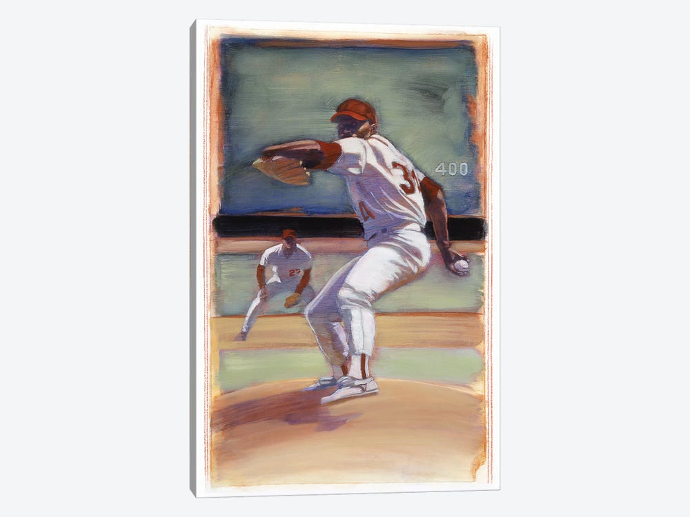 Baseball I by Bruce Dean 1-piece Canvas Art