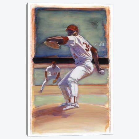 Baseball I Canvas Print #BDE13} by Bruce Dean Canvas Art