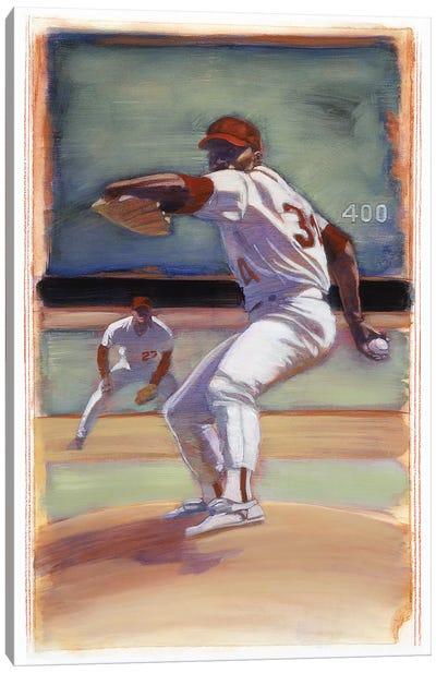 Baseball I Canvas Art Print