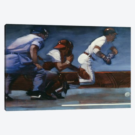 Baseball II Canvas Print #BDE14} by Bruce Dean Art Print