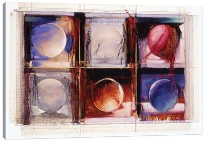 Abstract X Canvas Art Print