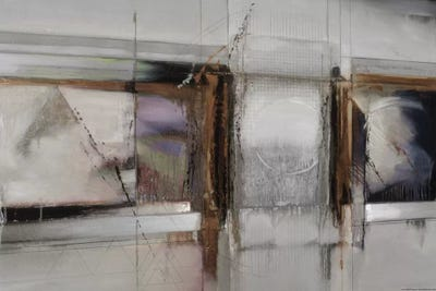 Abstract Xiv Muted Horizontal Canvas Artwork By Bruce Dean Icanvas
