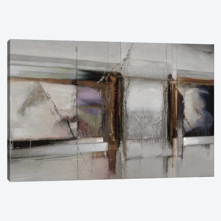 Abstract XIV, Muted & Horizontal 3-Piece Canvas #BDE6} by Bruce Dean Canvas Wall Art