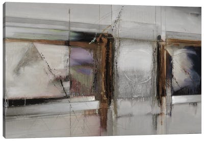 Abstract XIV, Muted & Horizontal Canvas Art Print