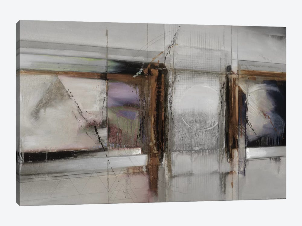 Abstract XIV, Muted & Horizontal by Bruce Dean 1-piece Canvas Print