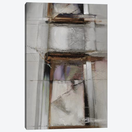 Abstract XIV, Muted & Vertical 3-Piece Canvas #BDE7} by Bruce Dean Canvas Artwork