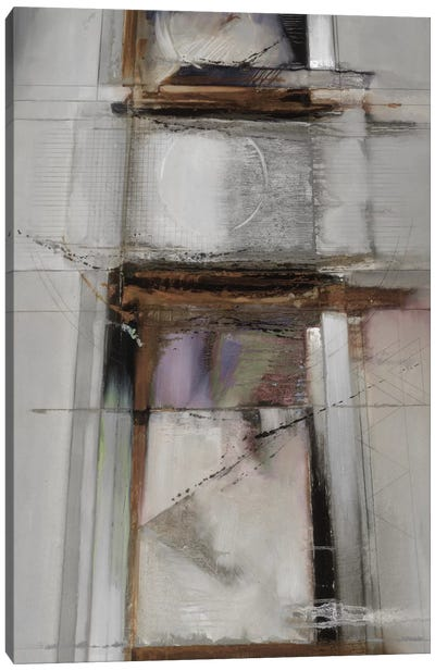 Abstract XIV, Muted & Vertical Canvas Art Print