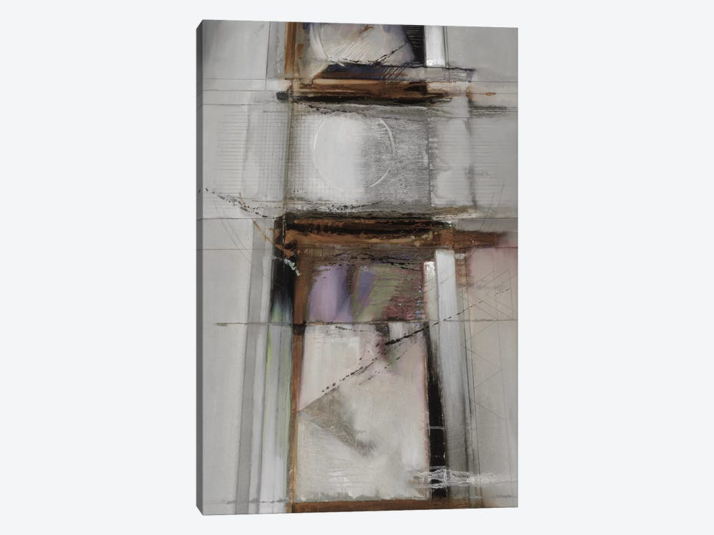 Abstract XIV, Muted & Vertical by Bruce Dean 1-piece Canvas Art