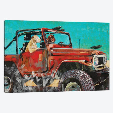 Fj Crusin Canvas Print #BDG10} by Barton DeGraaf Canvas Artwork