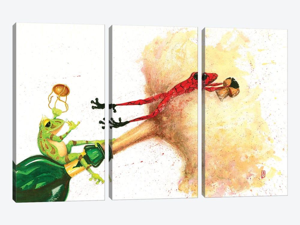 See Ya by Barton DeGraaf 3-piece Canvas Art Print