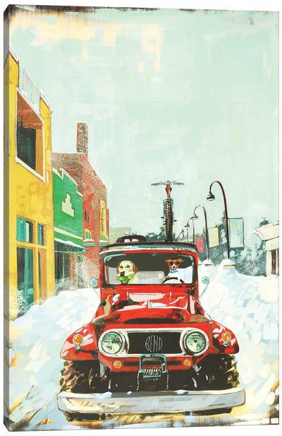 Winter In Paradise Canvas Art Print