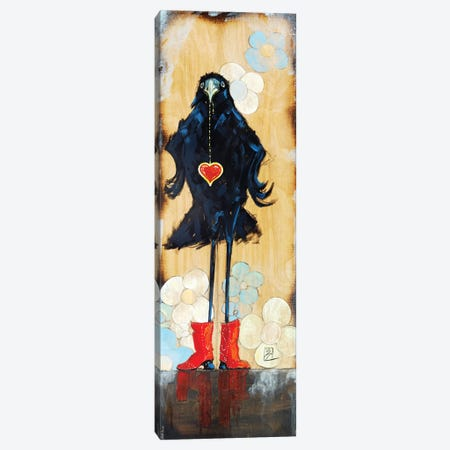 Bling Girl Canvas Print #BDG3} by Barton DeGraaf Art Print