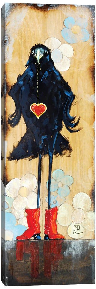 Bling Girl Canvas Art Print