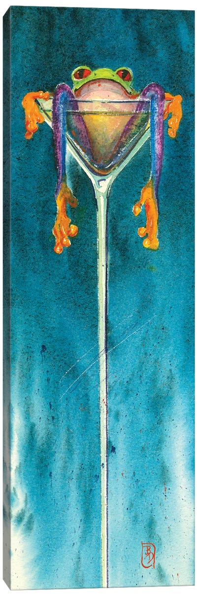 Blue Chill Canvas Art Print