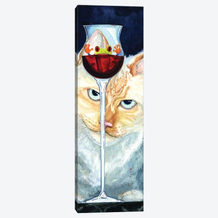 Cat Canvas Print #BDG6} by Barton DeGraaf Canvas Artwork