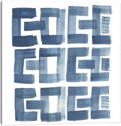 Organic Shapes II Canvas Art Print