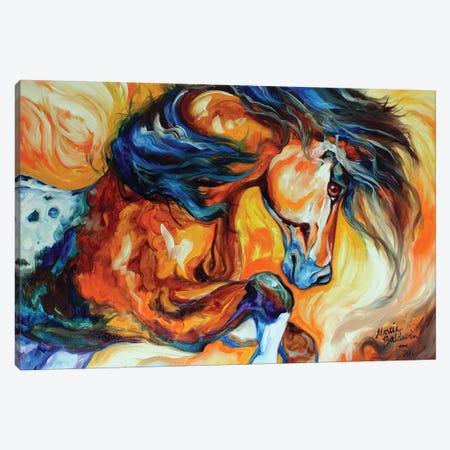 Dance Of The Wild One Canvas Print #BDN24} by Marcia Baldwin Canvas Art Print