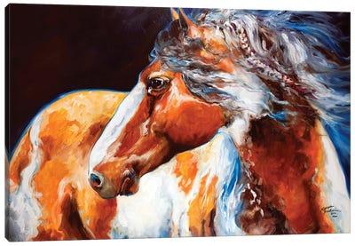 Mohican Indian War Horse Canvas Art Print