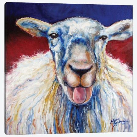 Oh Baa Ma Canvas Print #BDN44} by Marcia Baldwin Art Print