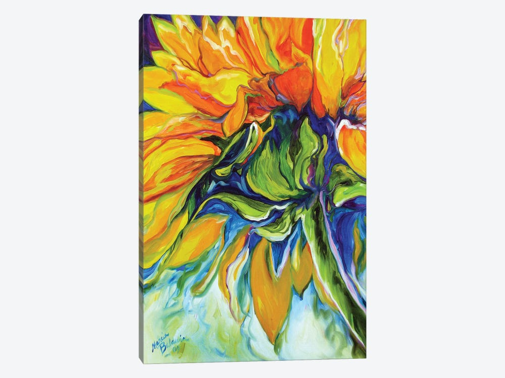 Sunflower In July by Marcia Baldwin 1-piece Canvas Art Print