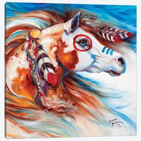 Wind Of Thunder Indian War Horse Canvas Print #BDN70} by Marcia Baldwin Canvas Print