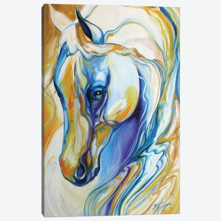 Arabian Abstract Canvas Print #BDN9} by Marcia Baldwin Canvas Art