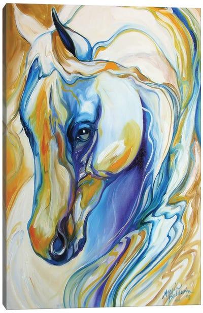 Arabian Abstract Canvas Art Print