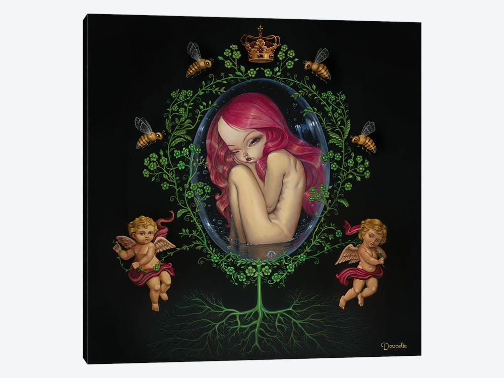 Gestation by Bob Doucette 1-piece Canvas Print