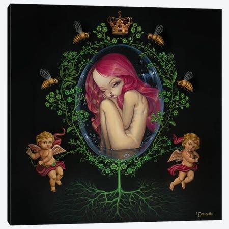Gestation Canvas Print #BDO10} by Bob Doucette Canvas Art