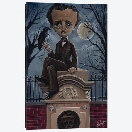 Ghost Poe Canvas Print #BDO11} by Bob Doucette Canvas Art