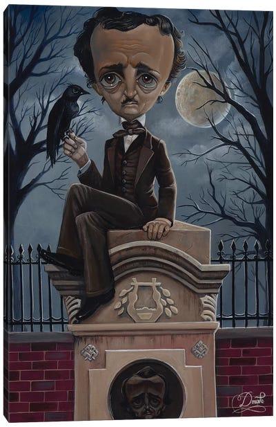 Ghost Poe Canvas Art Print
