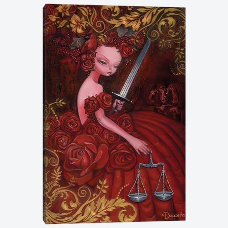 Justice Canvas Print #BDO14} by Bob Doucette Canvas Print