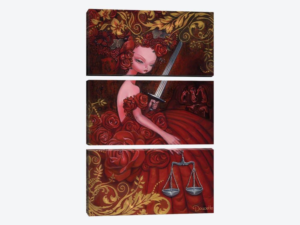 Justice by Bob Doucette 3-piece Canvas Print