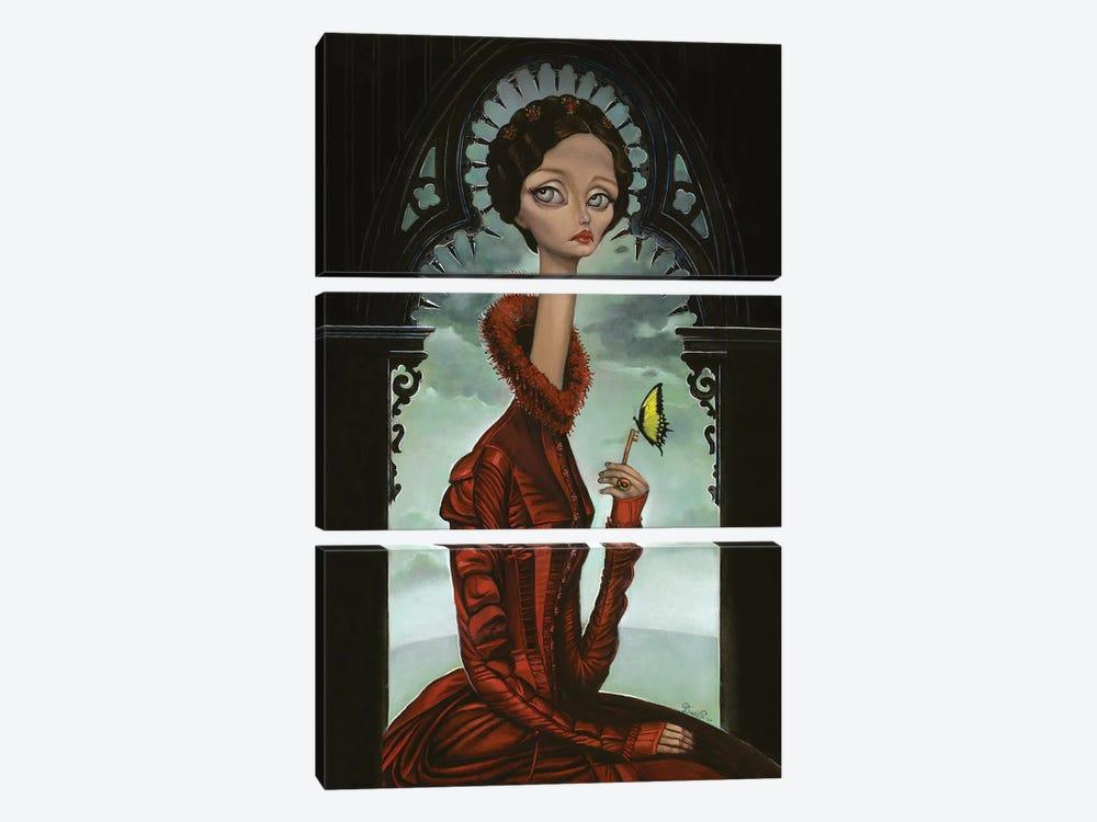 Lucille by Bob Doucette 3-piece Canvas Art