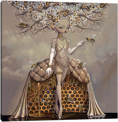 The Gift Of Honey Canvas Art Print