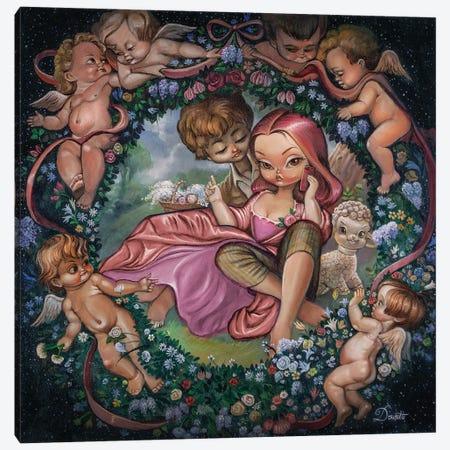 Bucolic Canvas Print #BDO27} by Bob Doucette Canvas Artwork