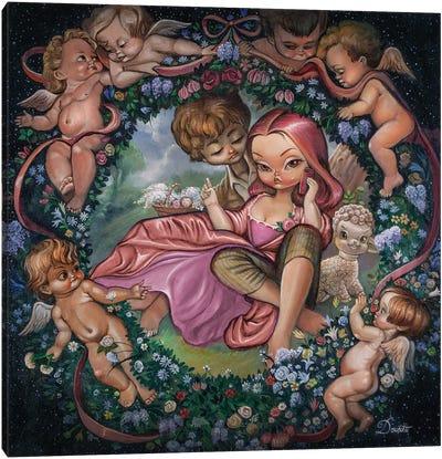 Bucolic Canvas Art Print