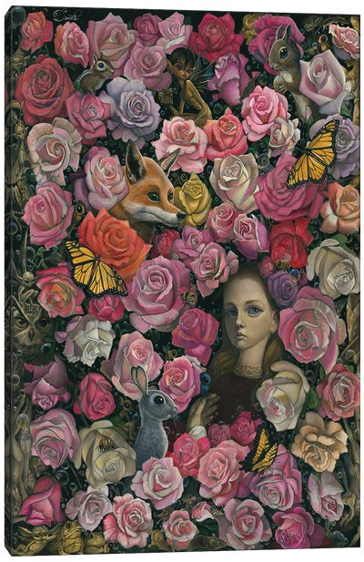 Equipose In Arcadia Canvas Art Print