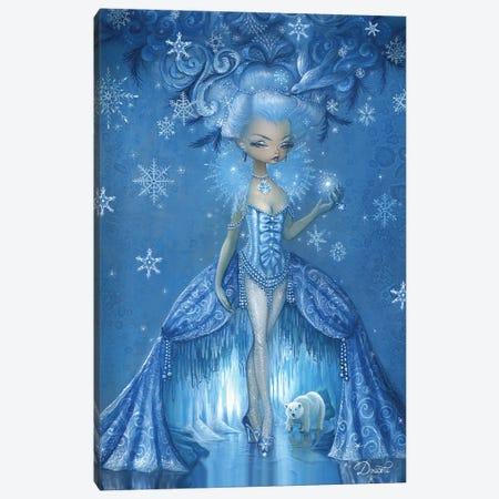 Frosty Canvas Print #BDO30} by Bob Doucette Canvas Artwork
