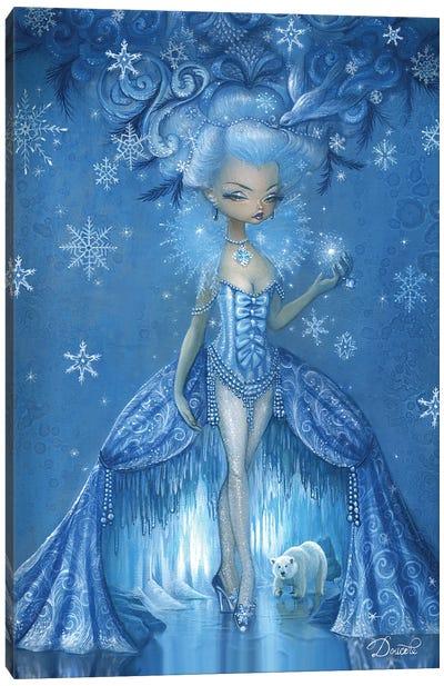 Frosty Canvas Art Print