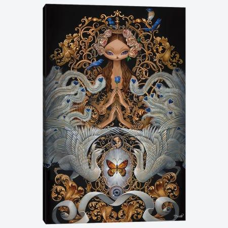 Spirit Canvas Print #BDO36} by Bob Doucette Art Print