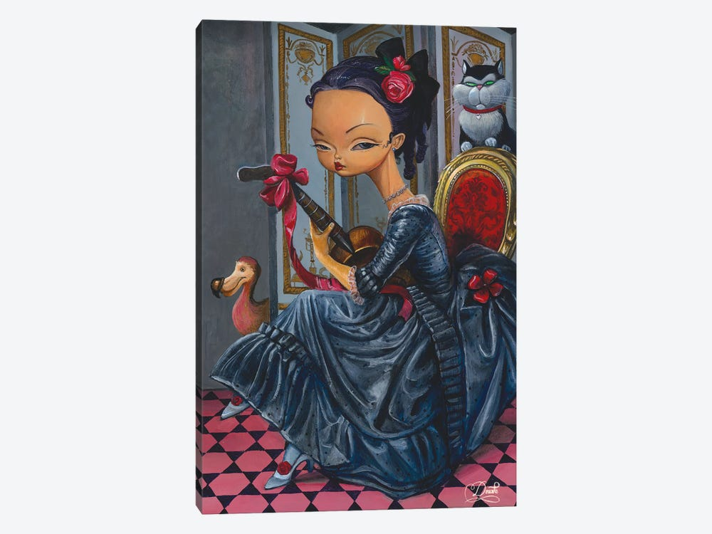 Dark Lady by Bob Doucette 1-piece Canvas Print