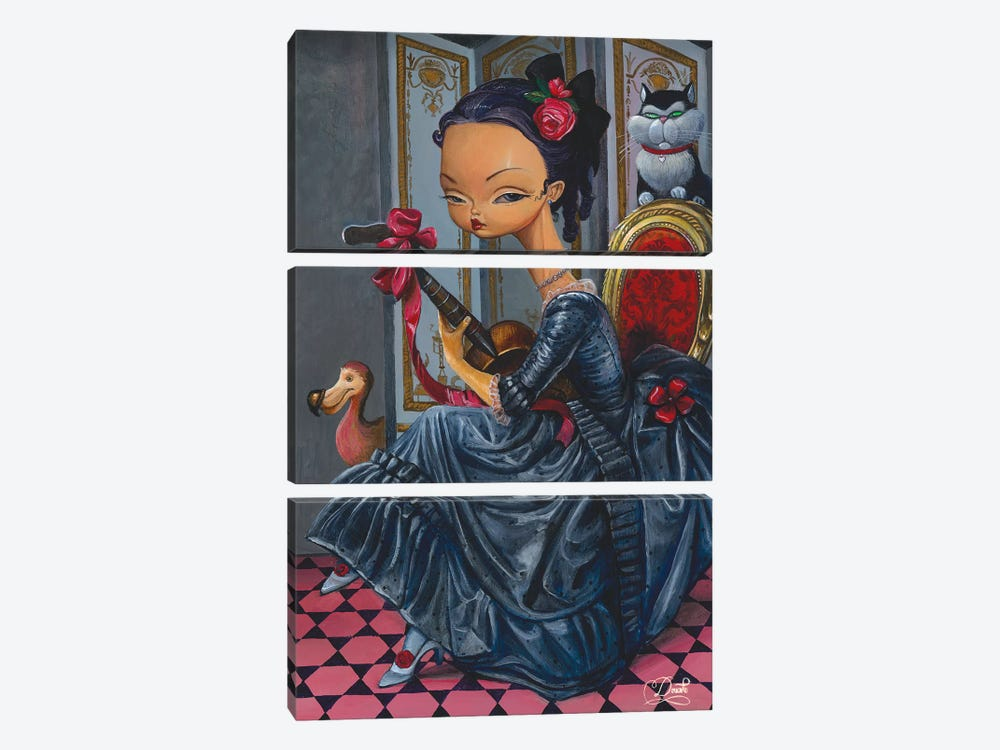 Dark Lady by Bob Doucette 3-piece Art Print