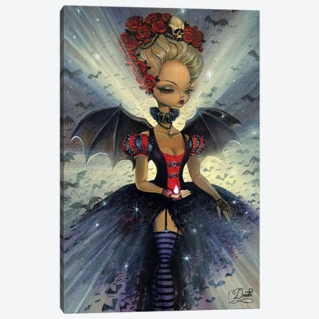 Dark Night Canvas Print #BDO7} by Bob Doucette Canvas Artwork