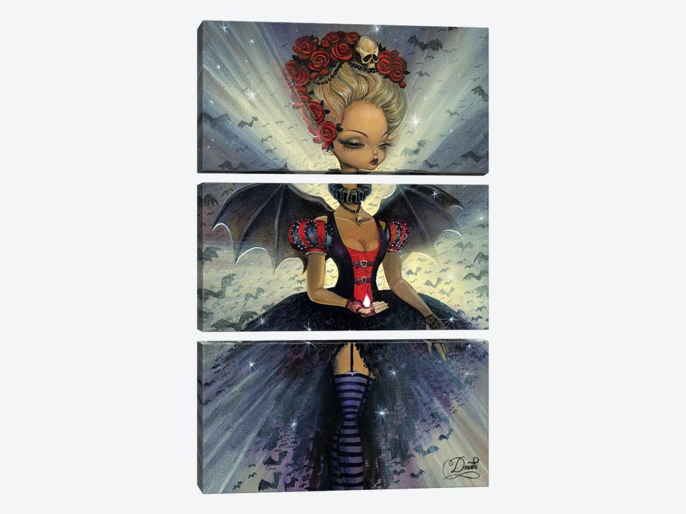 Dark Night by Bob Doucette 3-piece Canvas Art