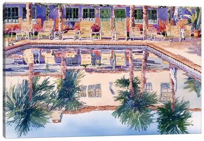 Cool Pool Canvas Art Print