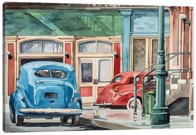 Downtown Canvas Art Print