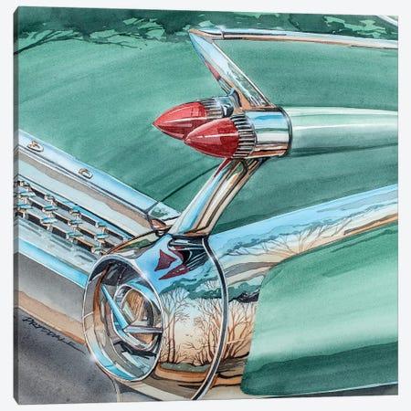 El Dorado Fin 3-Piece Canvas #BDR12} by Bill Drysdale Canvas Art Print