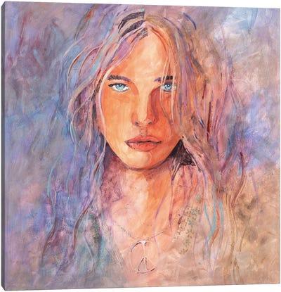Eye Of The Tigress Canvas Art Print